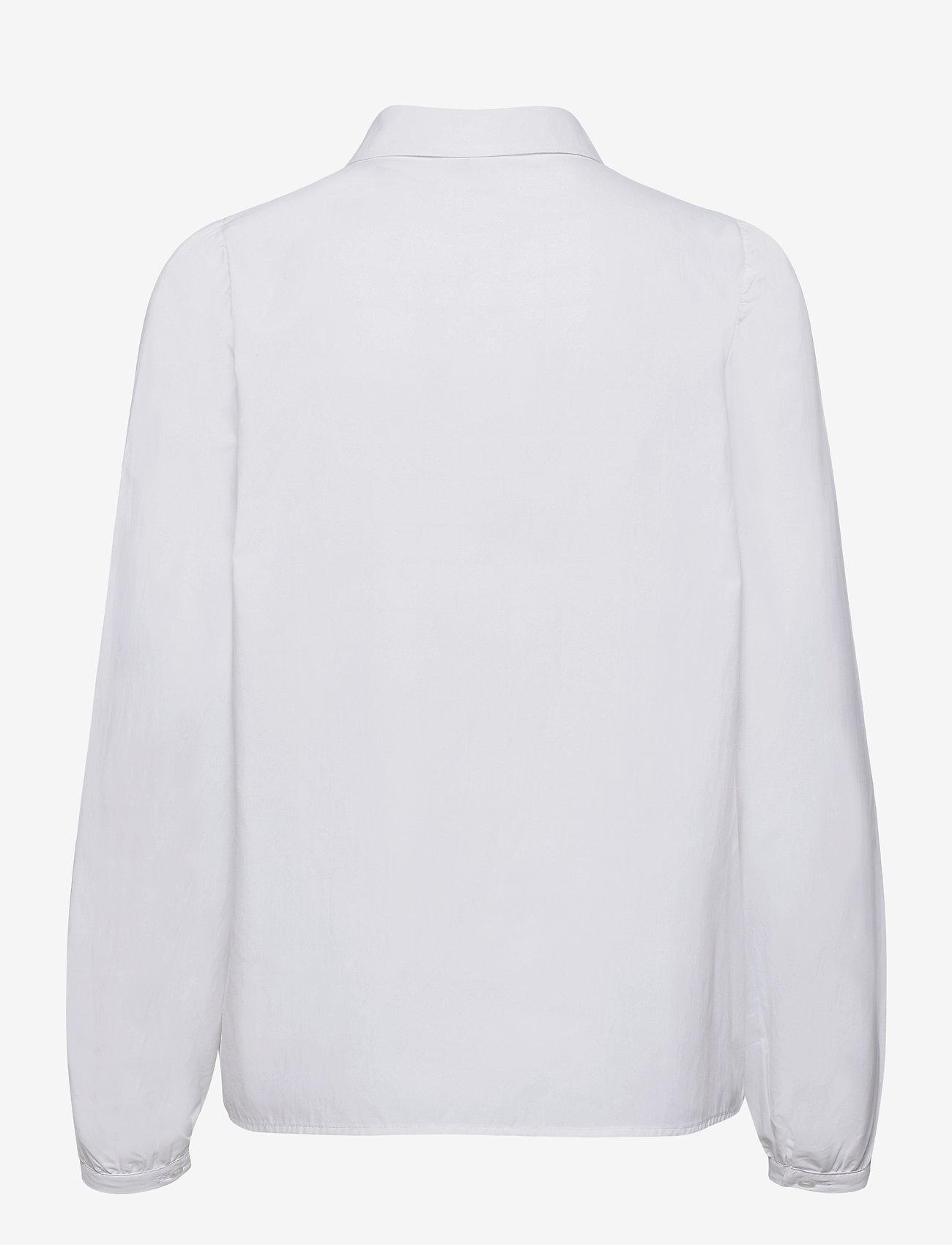Soyaconcept - SC-NETTI - long-sleeved shirts - white - 1