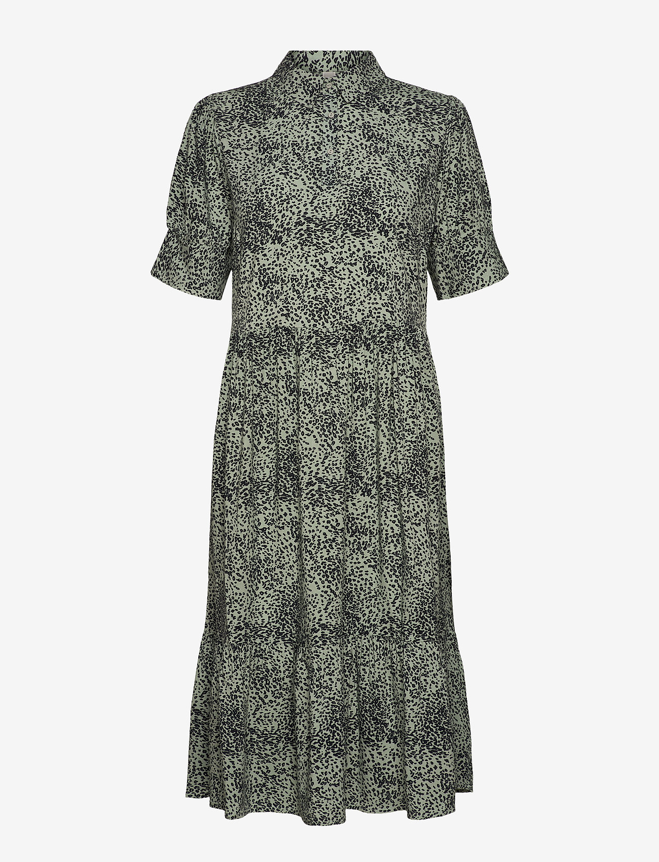 Soyaconcept - SC-NIKA - everyday dresses - 7580c mineral green combi - 0