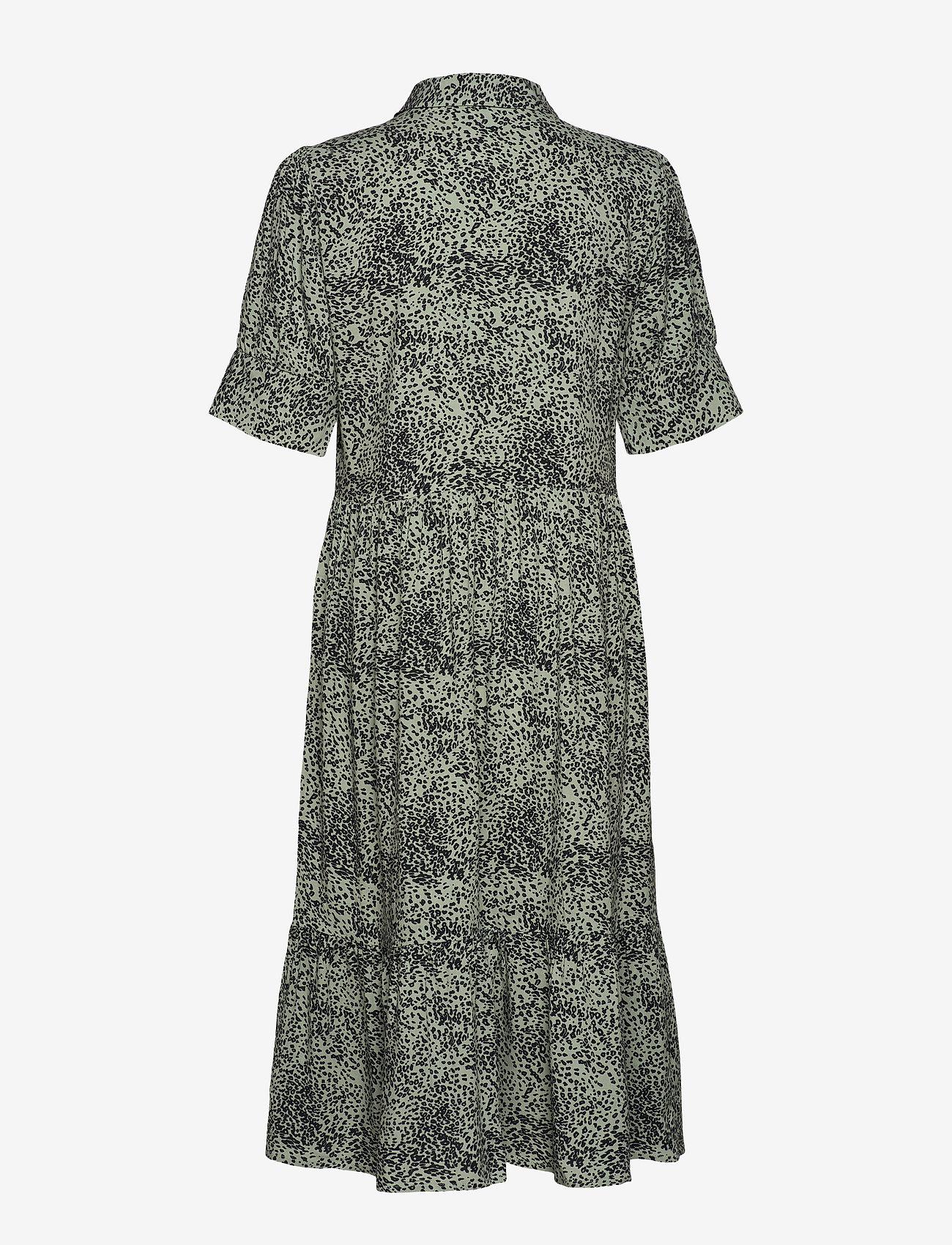 Soyaconcept - SC-NIKA - everyday dresses - 7580c mineral green combi - 1