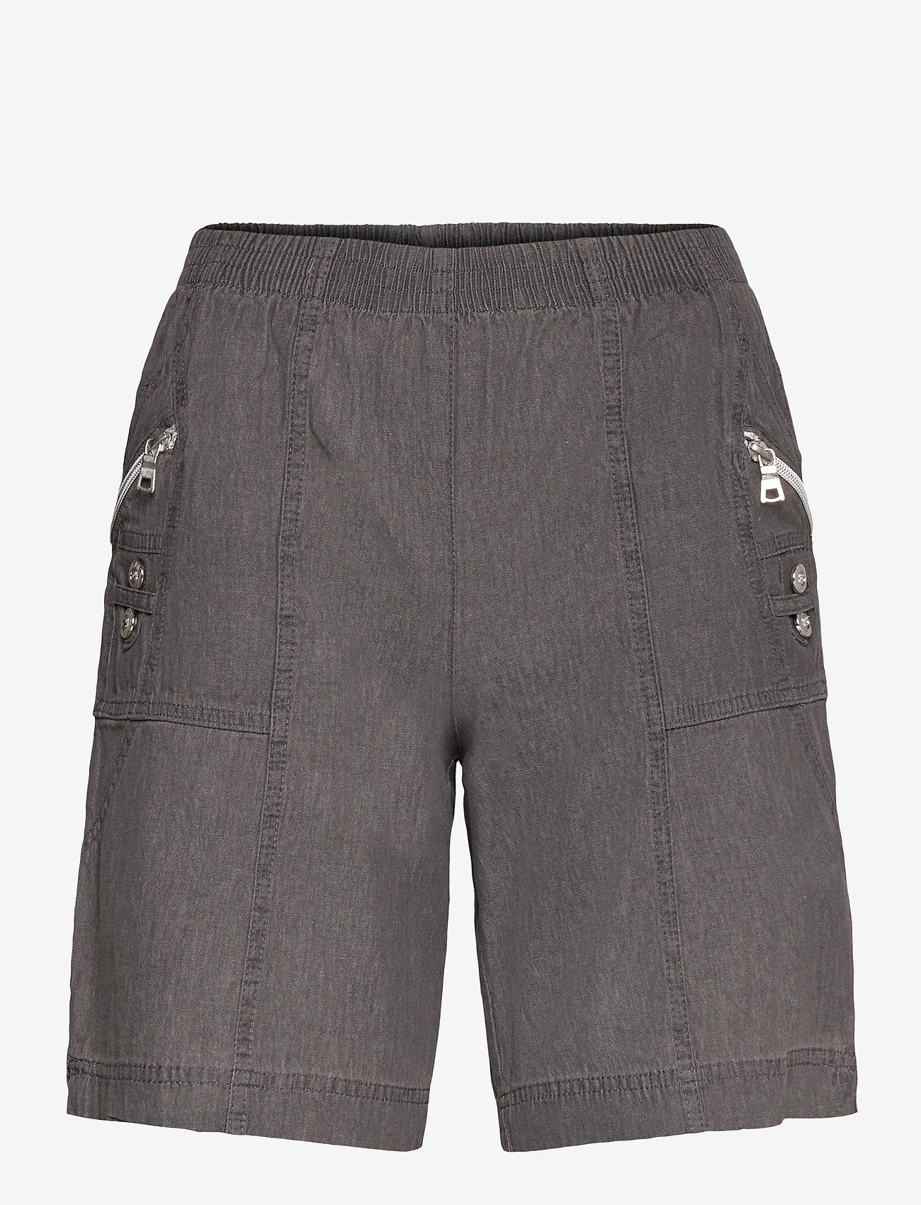 Soyaconcept - SC-AKILA CHAMBREY - shorts casual - grey - 0