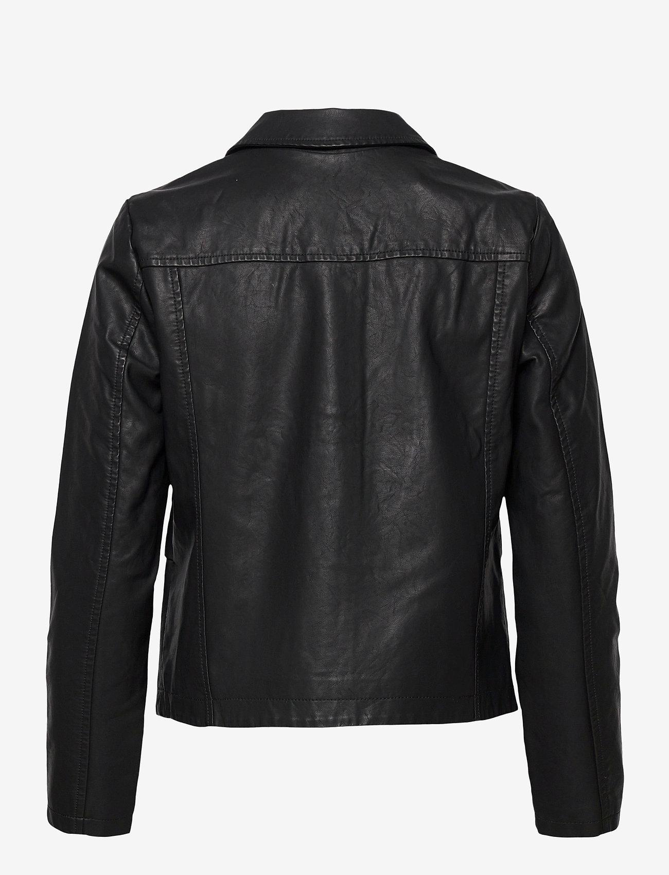 Soyaconcept - SC-GUNILLA - leather jackets - black - 1