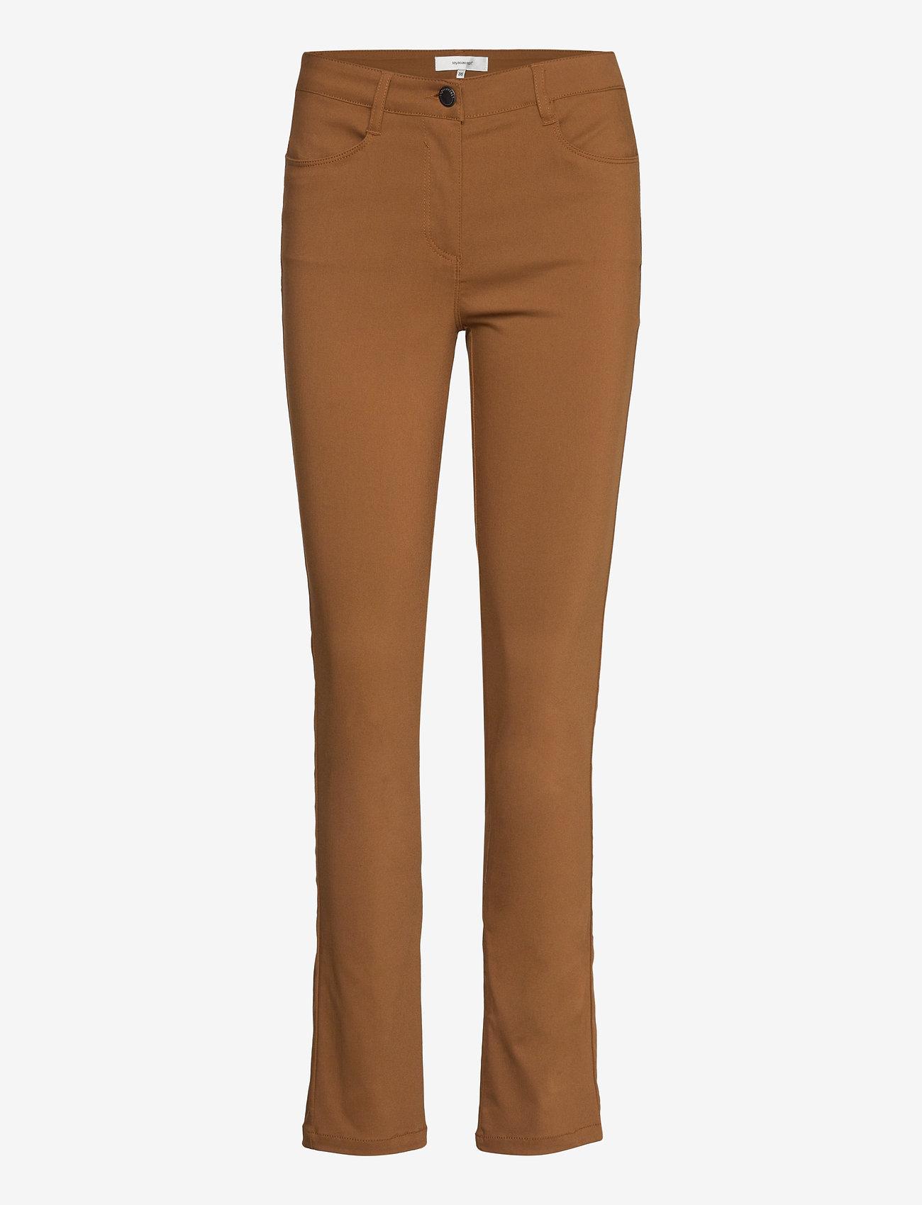 Soyaconcept - SC-LILLY - slim jeans - dark caramel - 0