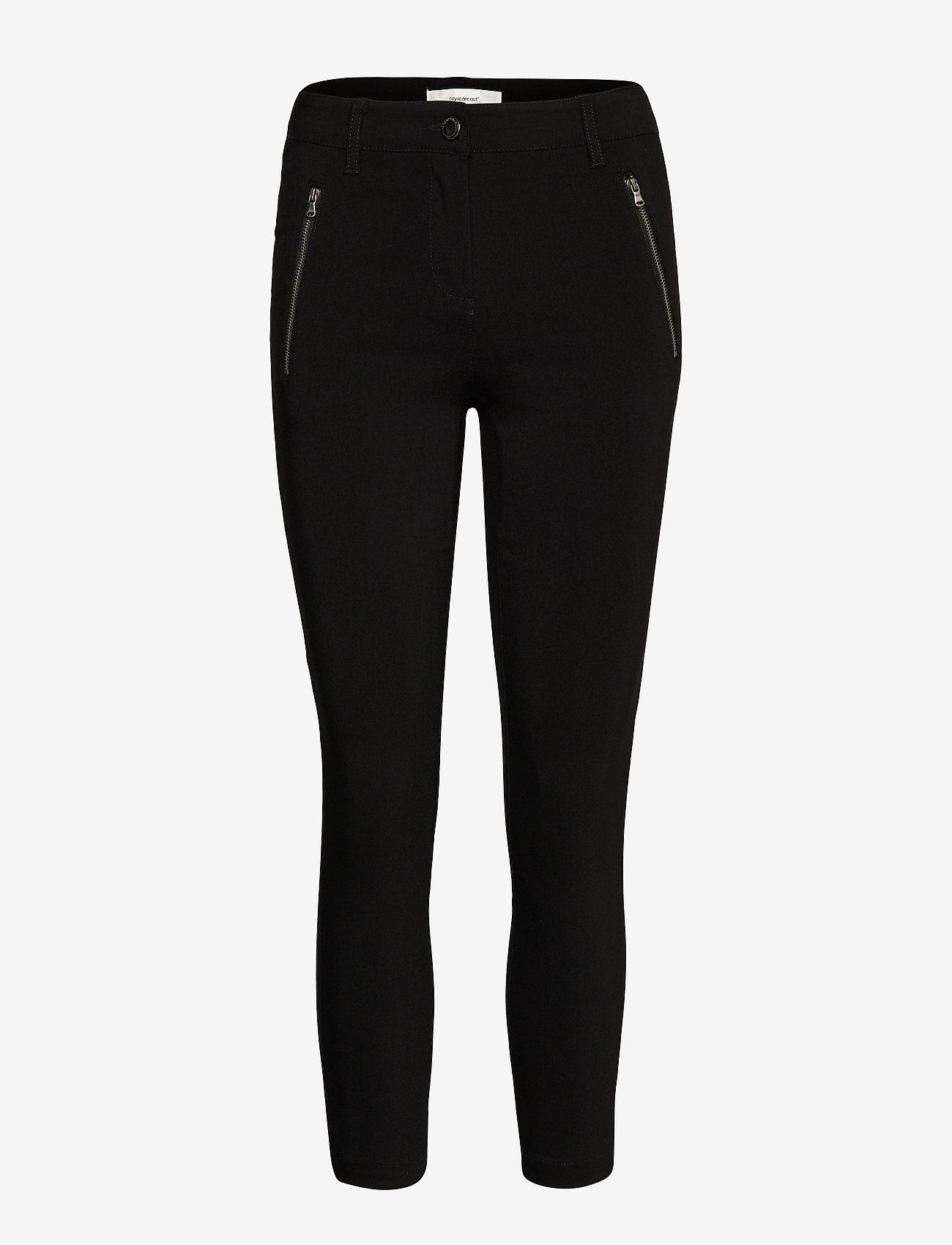 Soyaconcept - SC-LILLY - broeken med skinny fit - black - 0