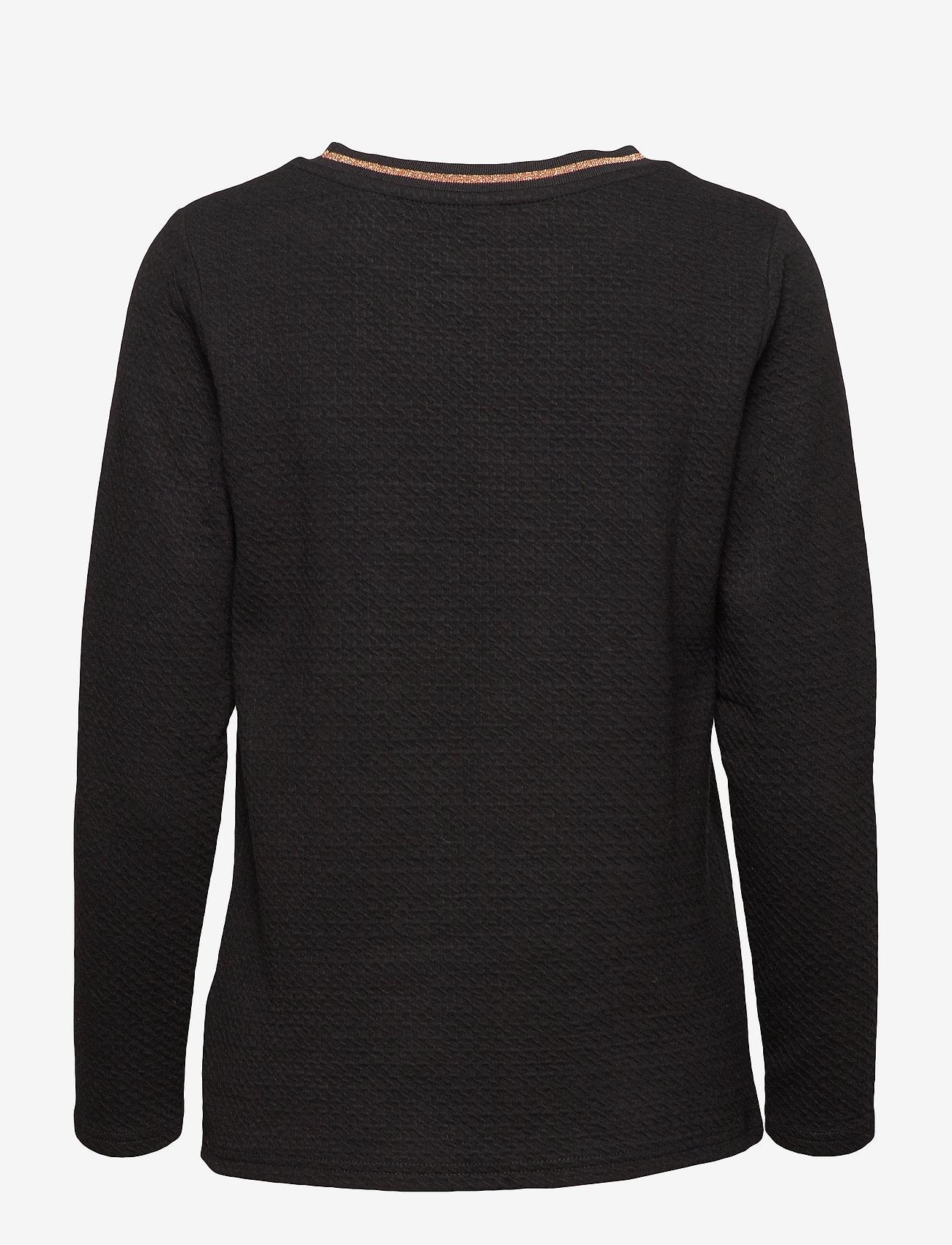 Soyaconcept - SC-MENJA - long-sleeved tops - black