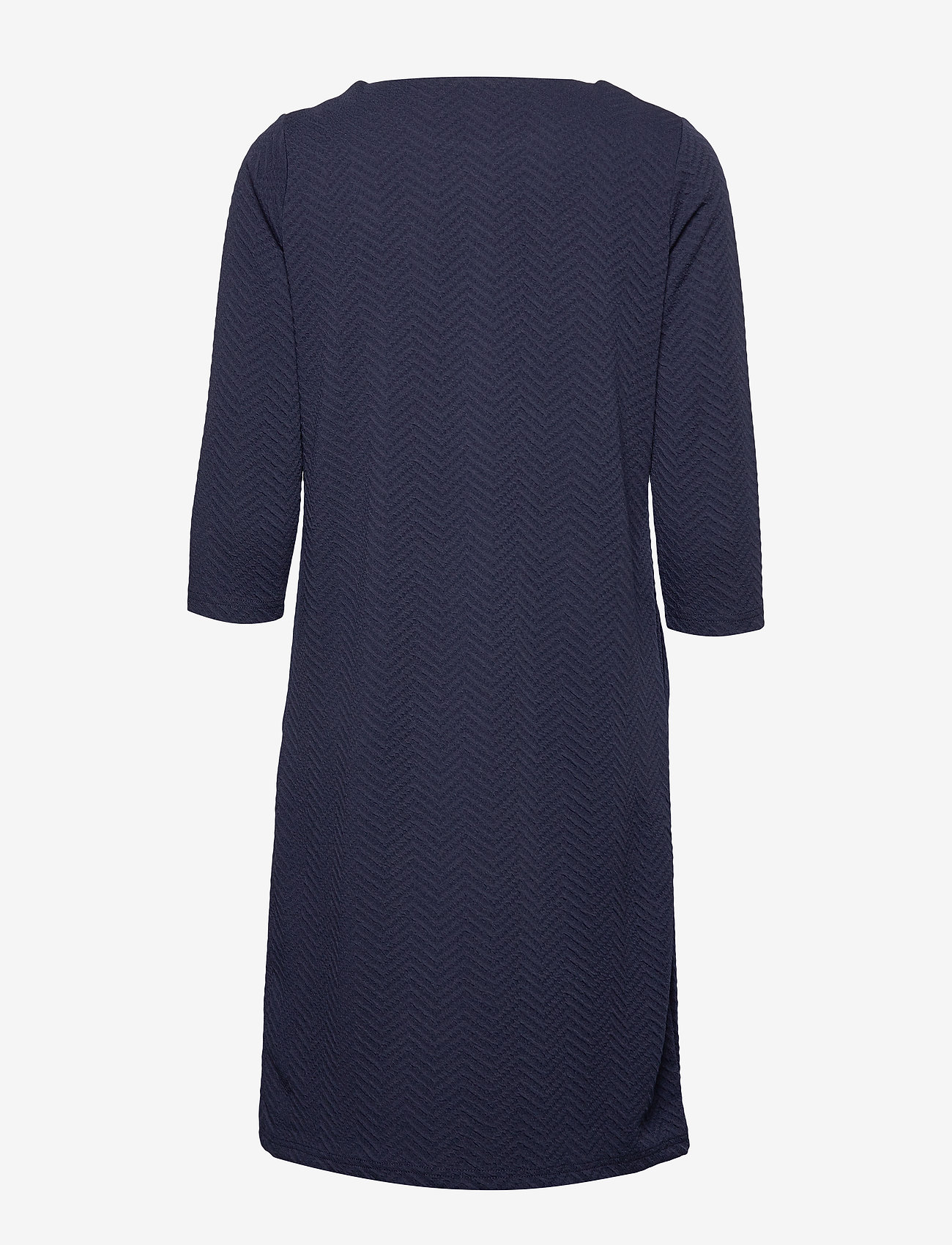 Soyaconcept - SC-SIHAM JACQUARD - robes longeur du midi - navy