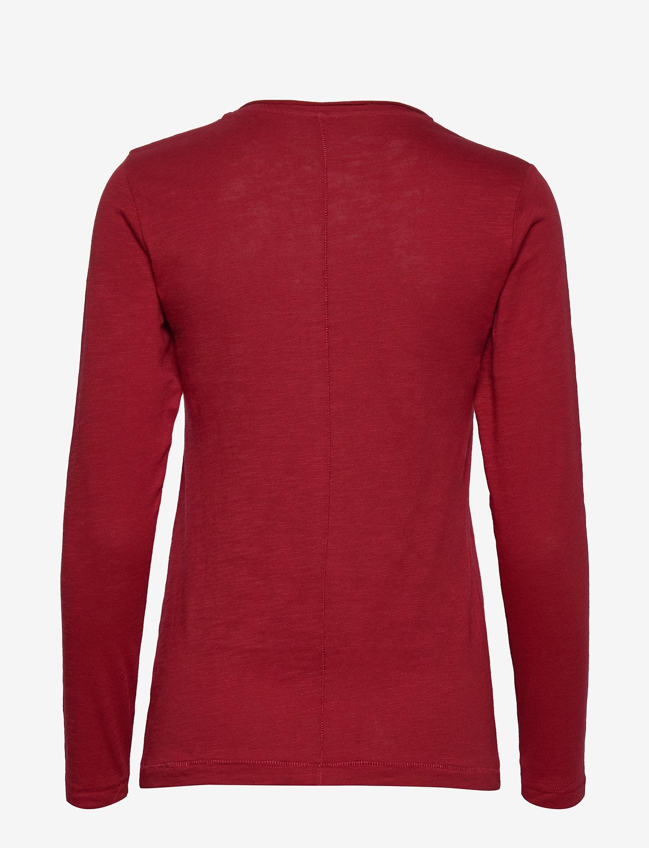 Soyaconcept - SC-BABETTE - t-shirts basiques - cabernet