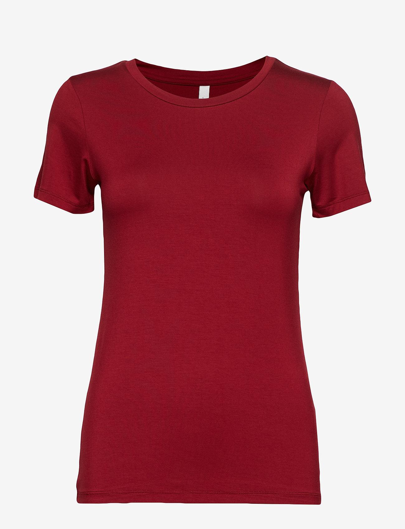 Soyaconcept - SC-MARICA - t-shirts basiques - cabernet