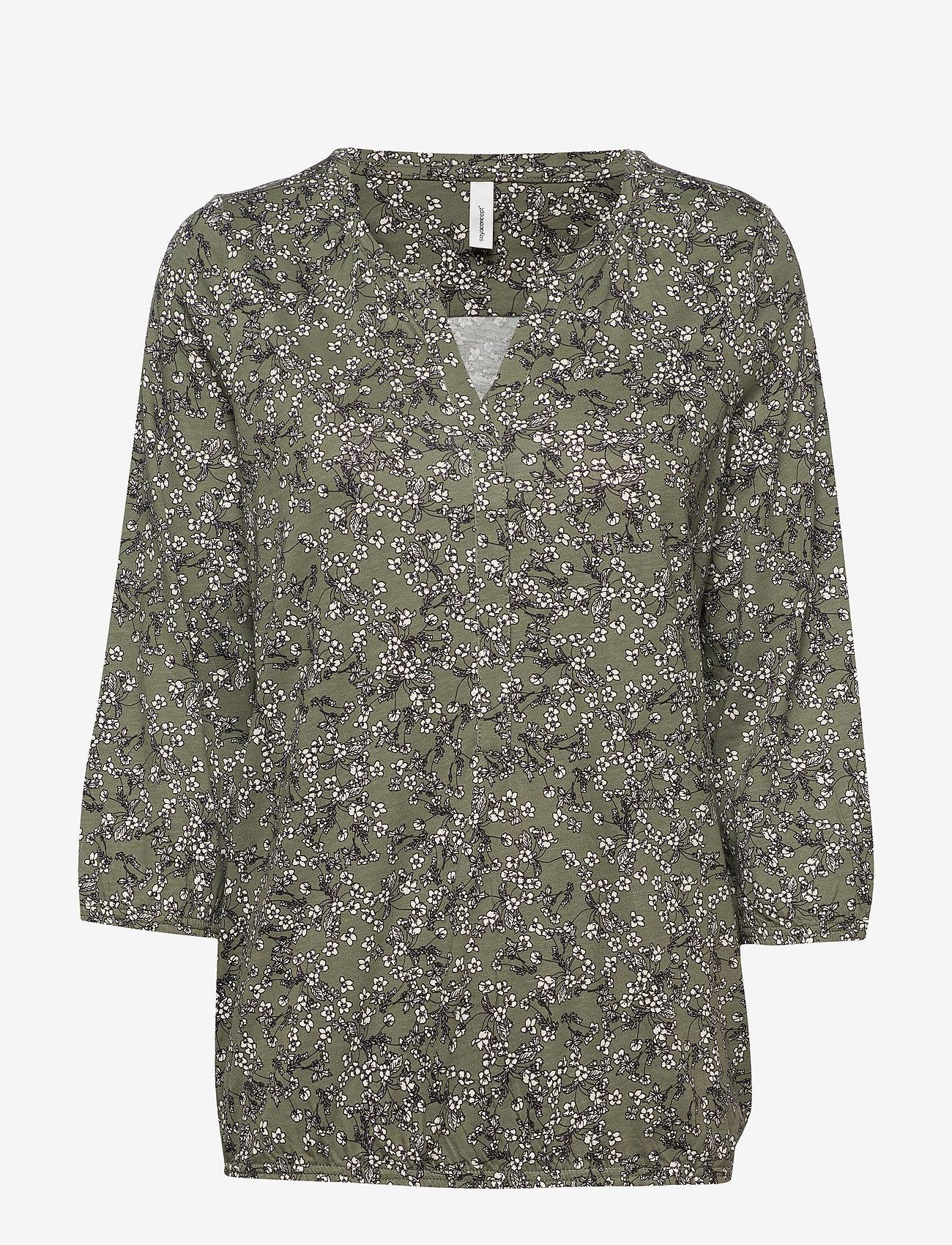 Soyaconcept SC-FELICITY AOP - Bluzki & Koszule ARMY COMBI - Kobiety Odzież.