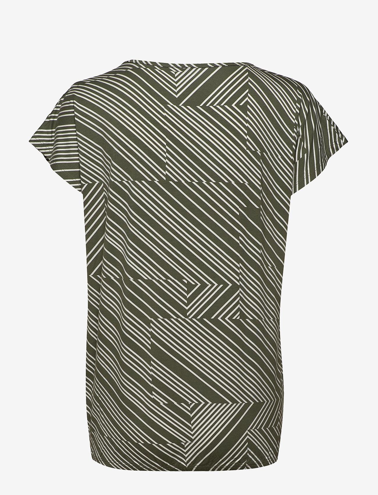 Soyaconcept SC-MARICA AOP - T-shirty i zopy ARMY COMBI - Kobiety Odzież.