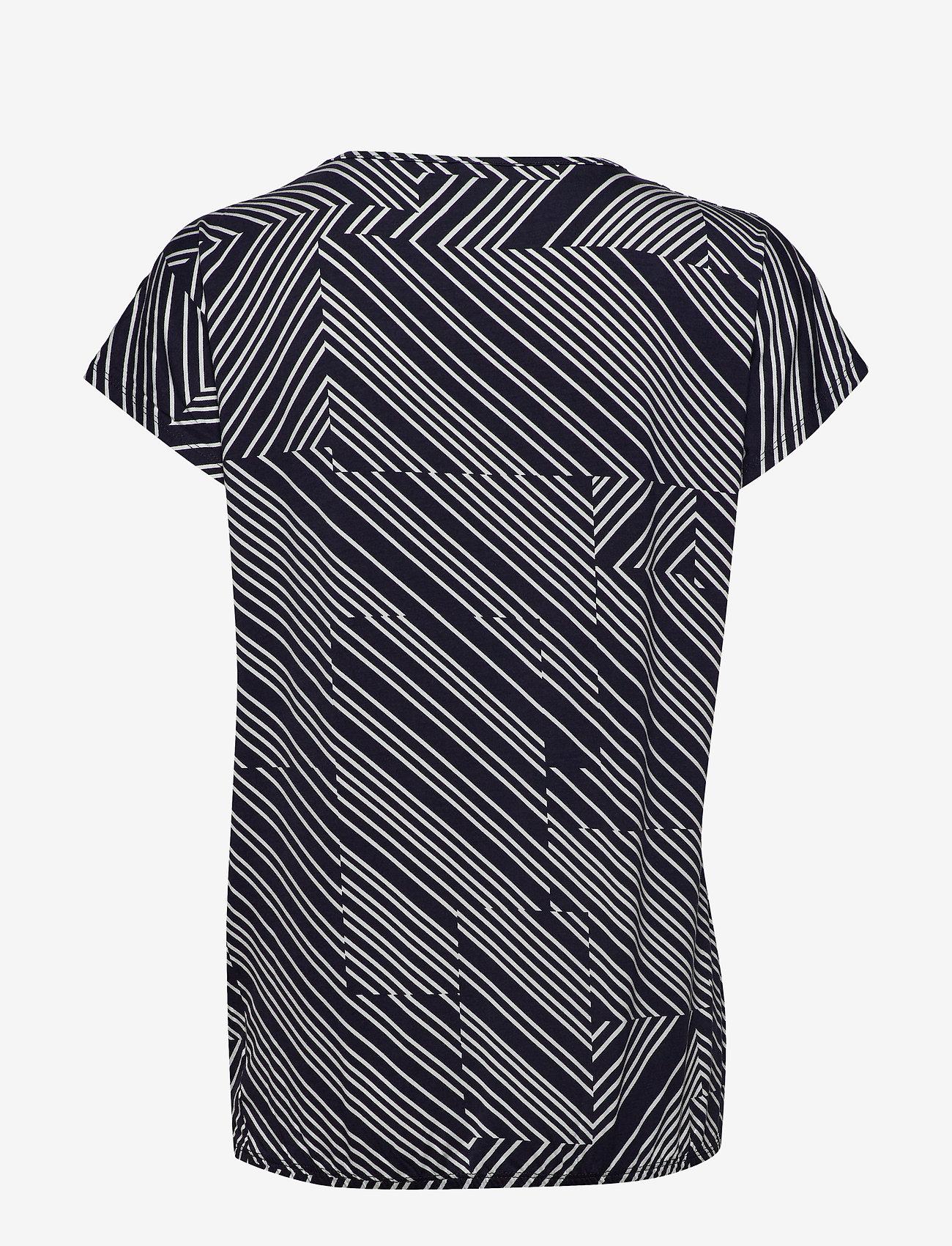 Soyaconcept SC-MARICA AOP - T-shirty i zopy NAVY COMBI - Kobiety Odzież.