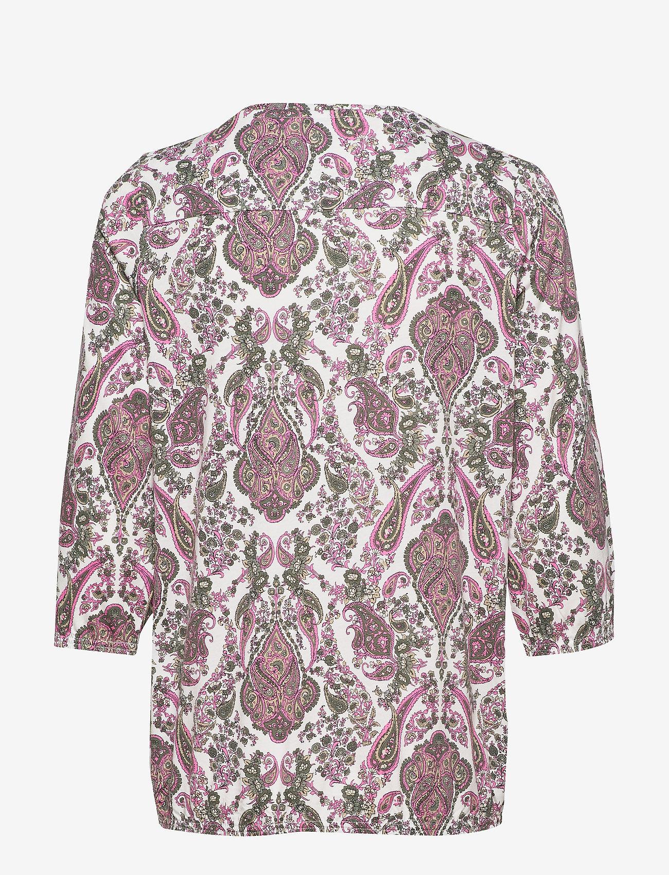 Soyaconcept SC-FELICITY AOP - T-shirty i zopy PINK BLOOM COMBI - Kobiety Odzież.