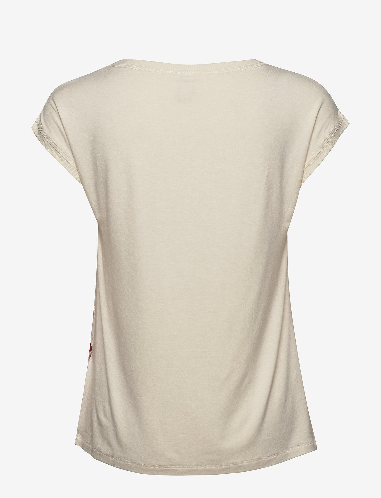 Soyaconcept SC-SUE - T-shirty i zopy PINK BLOOM COMBI - Kobiety Odzież.