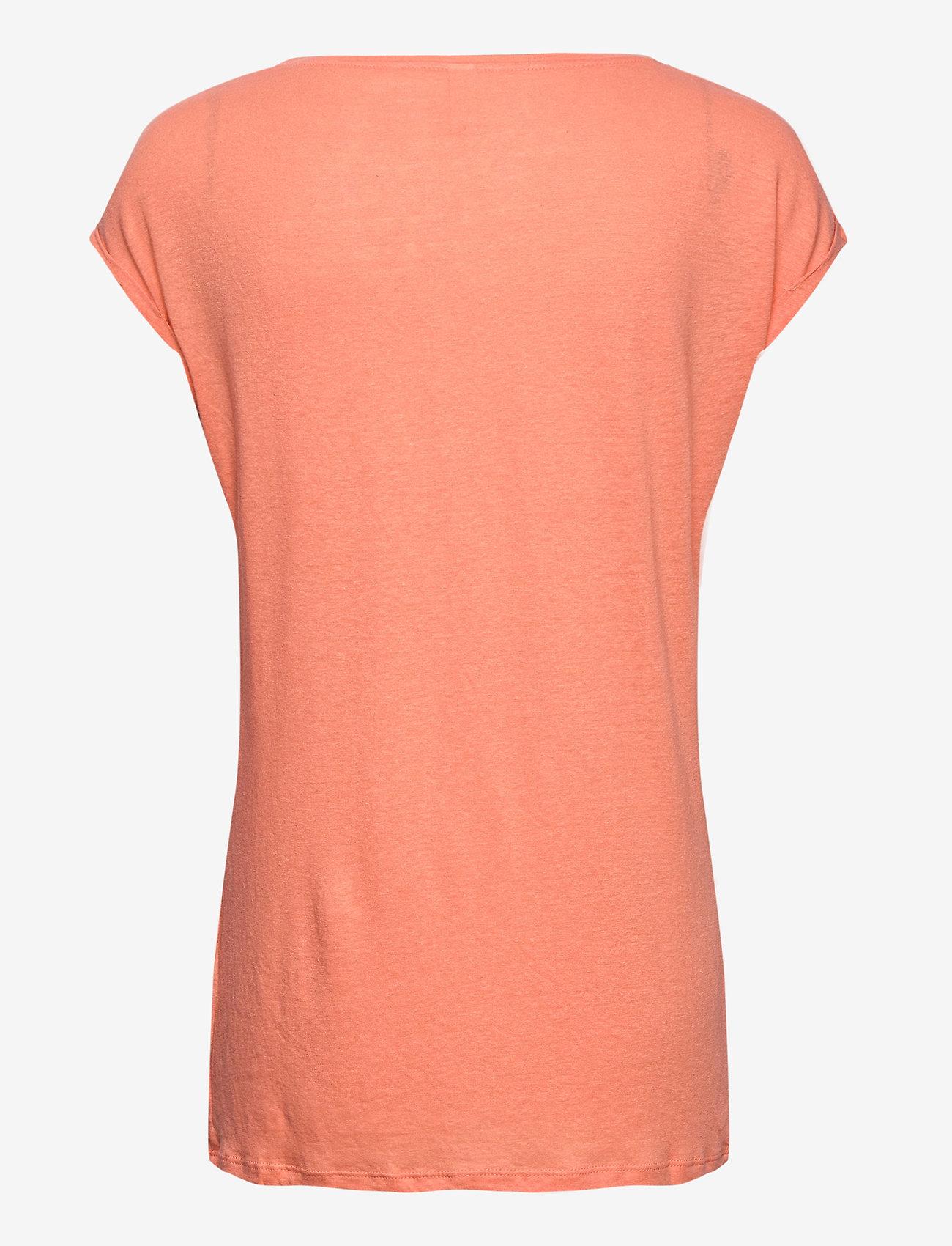 Soyaconcept - SC-ISABEL - t-shirts - peach - 1