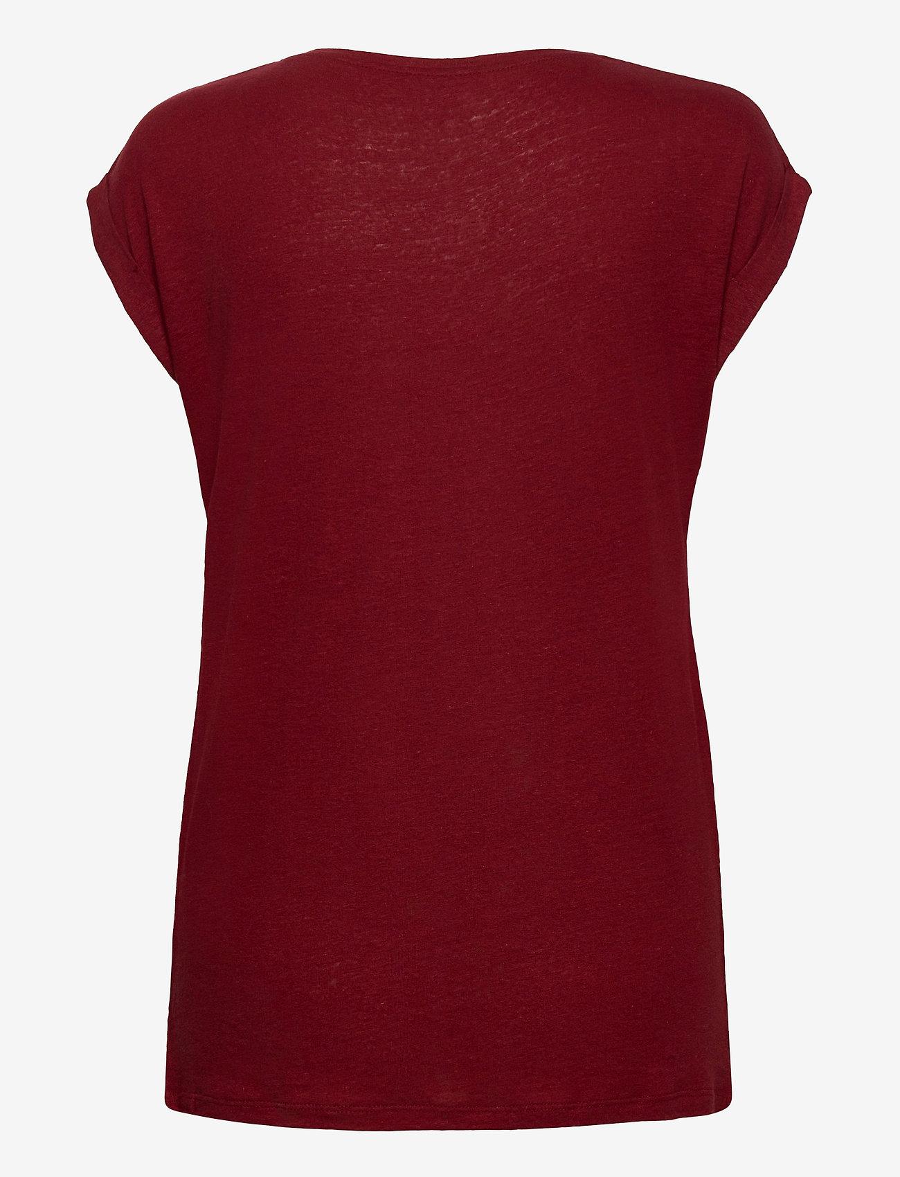 Soyaconcept - SC-ISABEL - t-shirts - syrah - 1