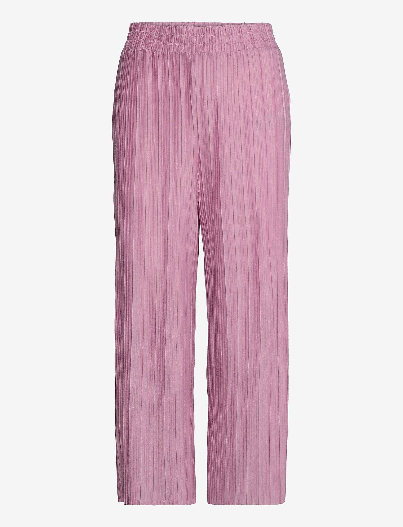 Soyaconcept - SC-KIRIT - bukser med brede ben - pink rose - 0