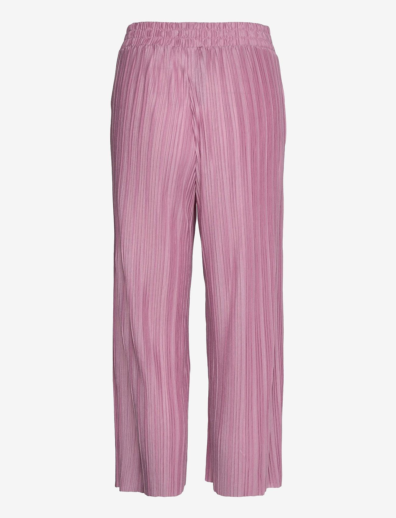 Soyaconcept - SC-KIRIT - bukser med brede ben - pink rose - 1