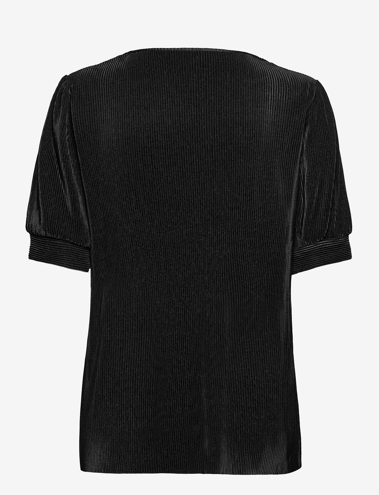 Soyaconcept - SC-NELLIE - short-sleeved blouses - black - 1
