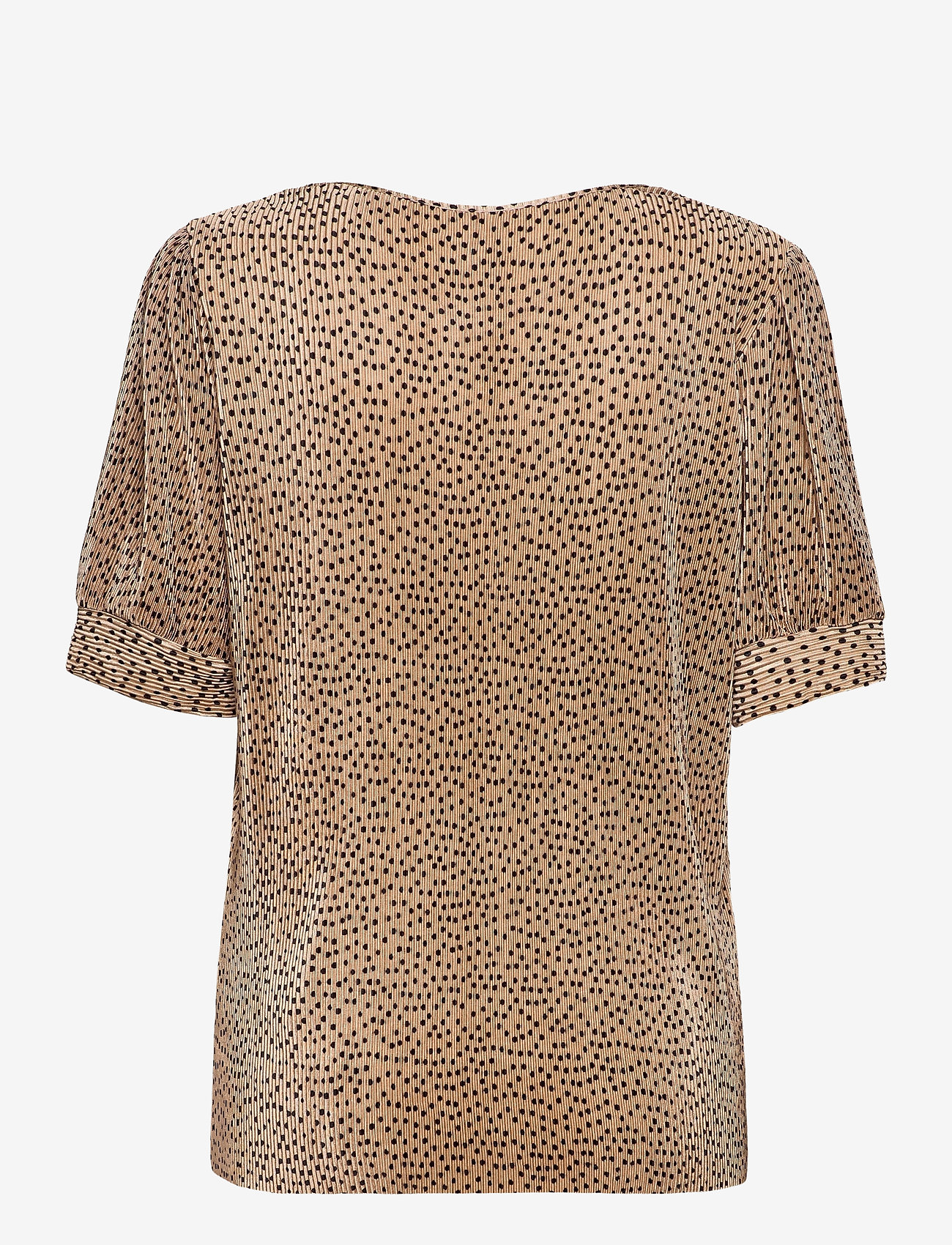 Soyaconcept - SC-NELLIE - short-sleeved blouses - camel combi - 1