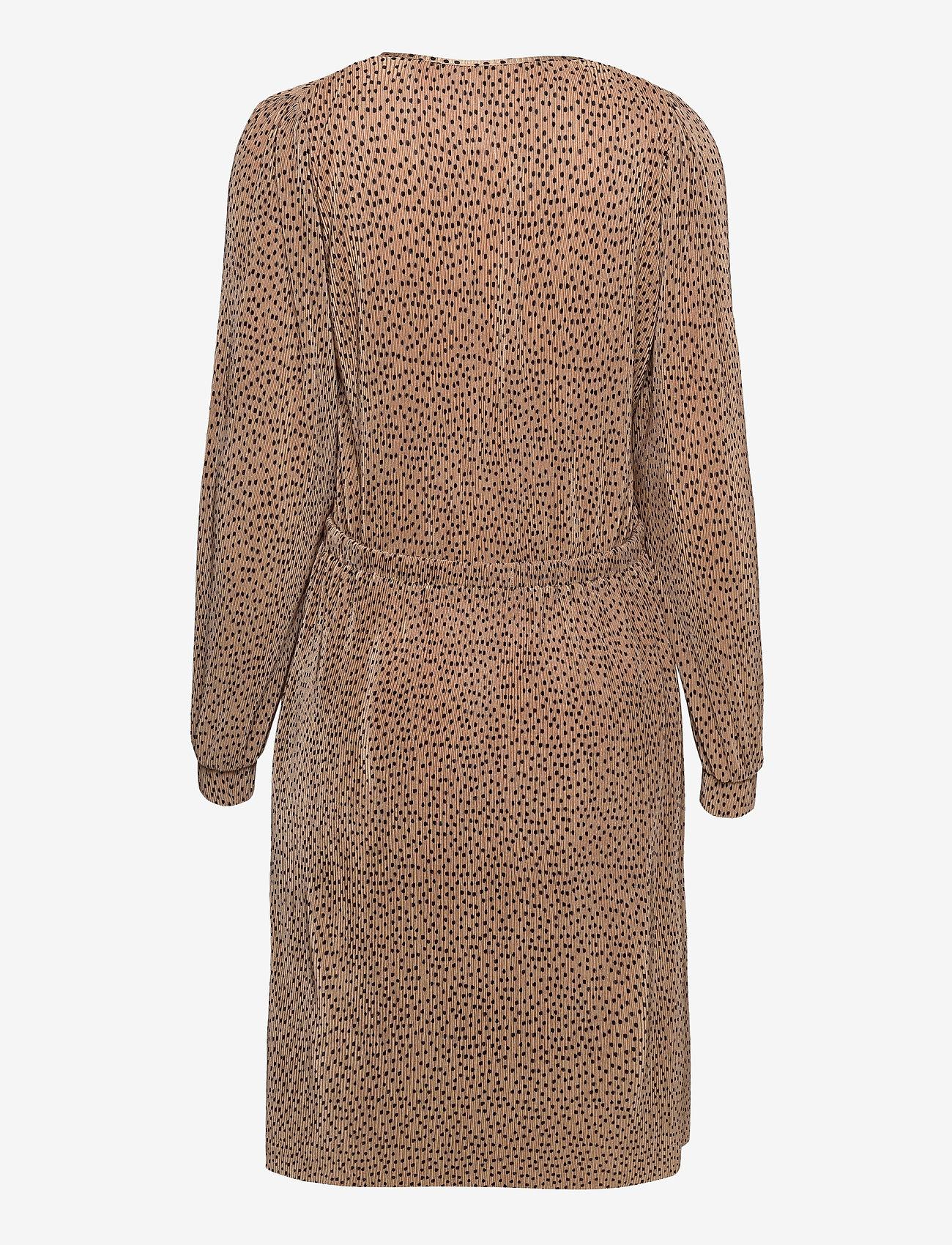 Soyaconcept - SC-NELLIE - midi dresses - camel combi - 1