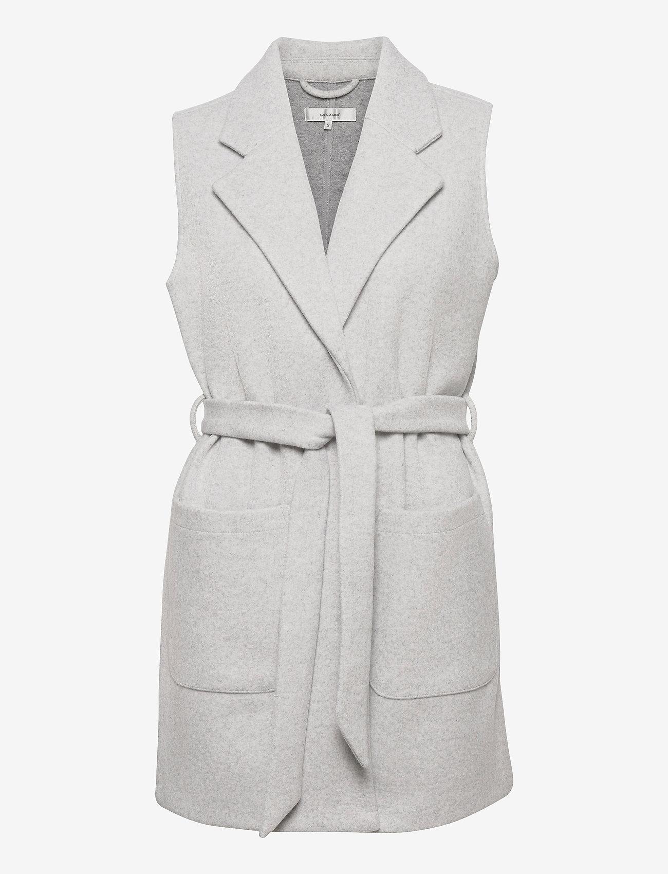 Soyaconcept - SC-NANO - puffer vests - lt grey melange - 0