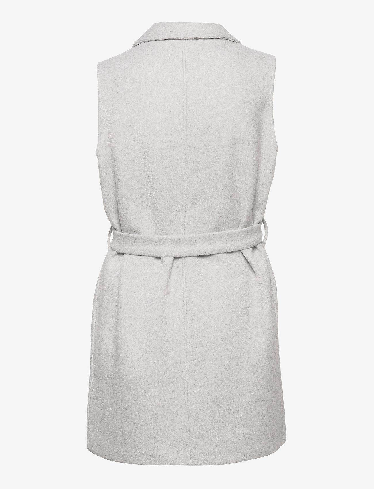 Soyaconcept - SC-NANO - puffer vests - lt grey melange - 1