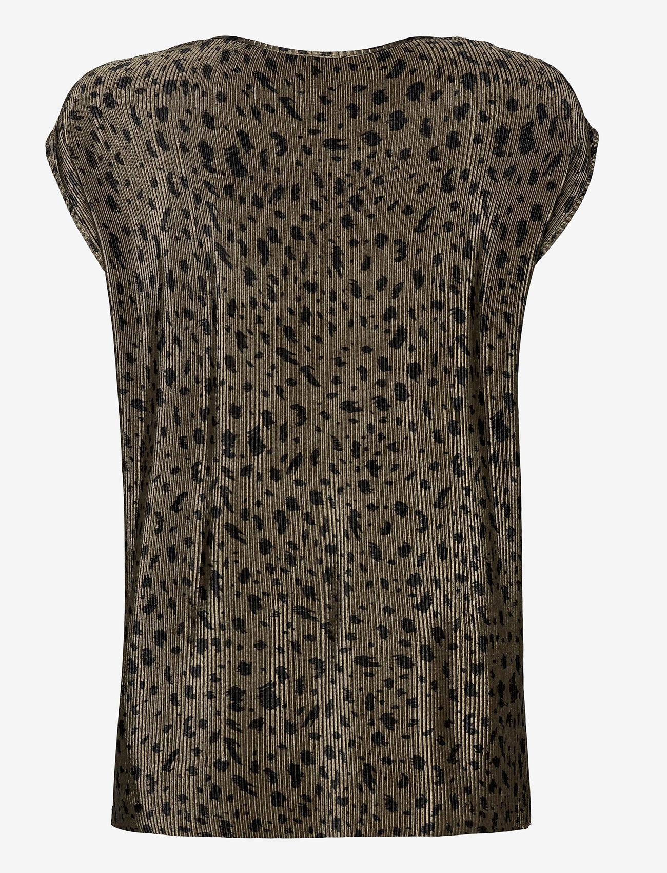 Soyaconcept - SC-OLINDA - short-sleeved blouses - dark army combi - 1
