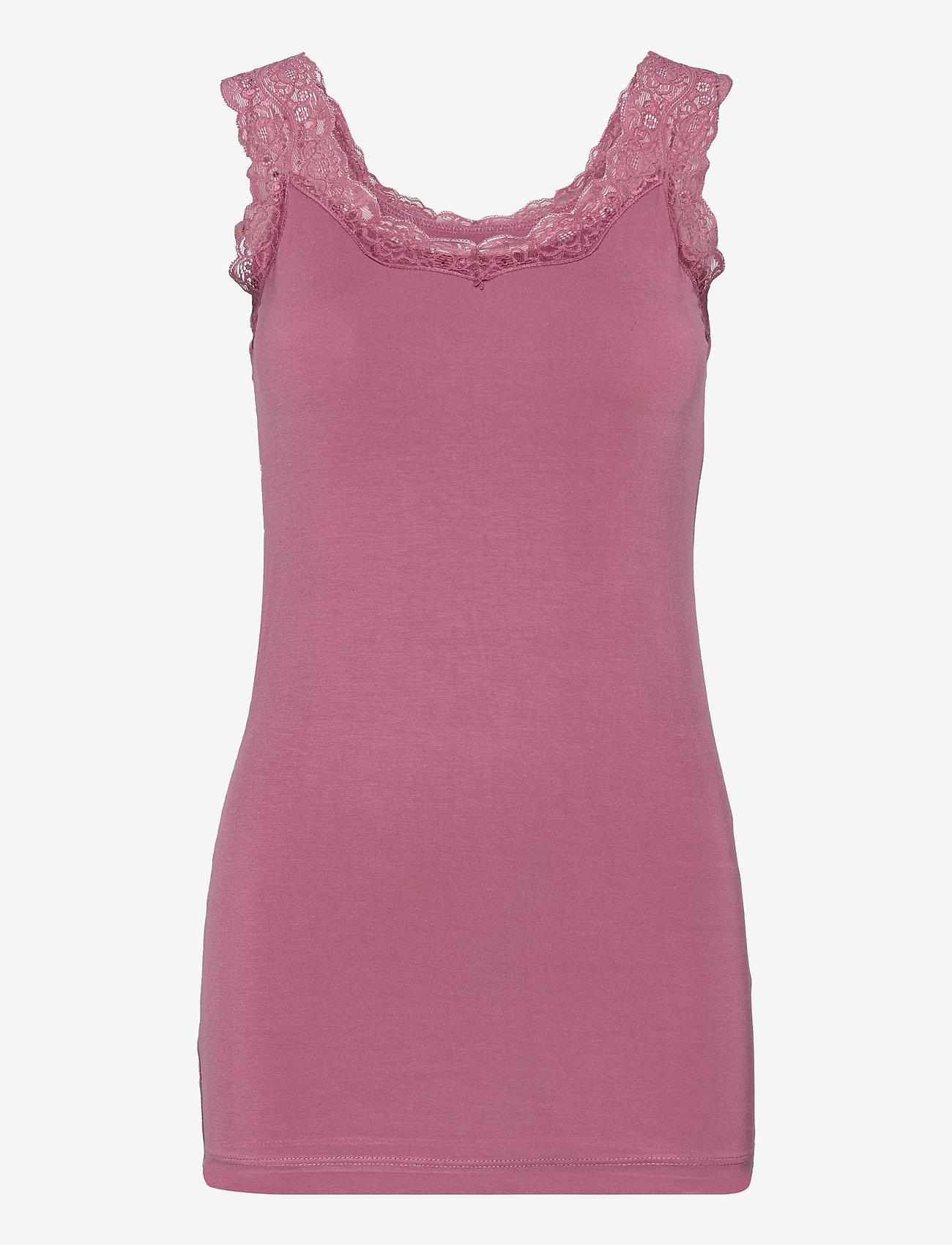 Soyaconcept - SC-MARICA - t-shirt & tops - dark pink rose - 0