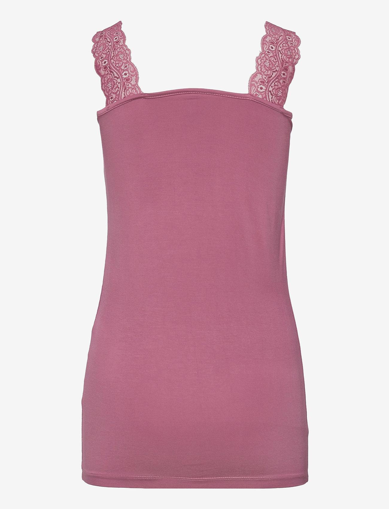 Soyaconcept - SC-MARICA - t-shirt & tops - dark pink rose - 1