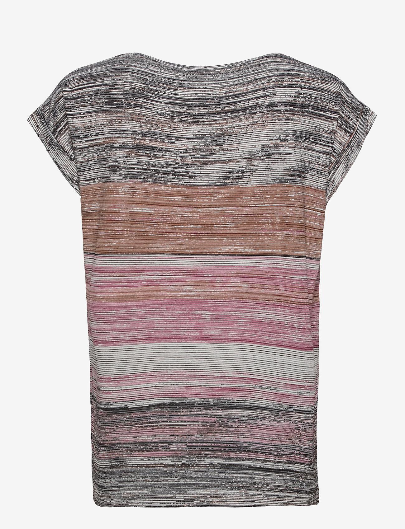 Soyaconcept - SC-GALINA - t-shirts - dark pink rose combi - 1