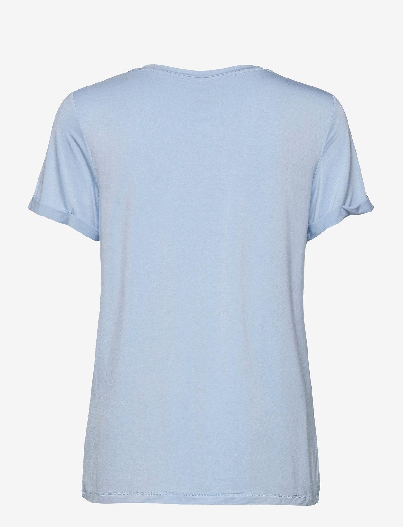 Soyaconcept - SC-MARICA FP - t-shirt & tops - powder blue - 1