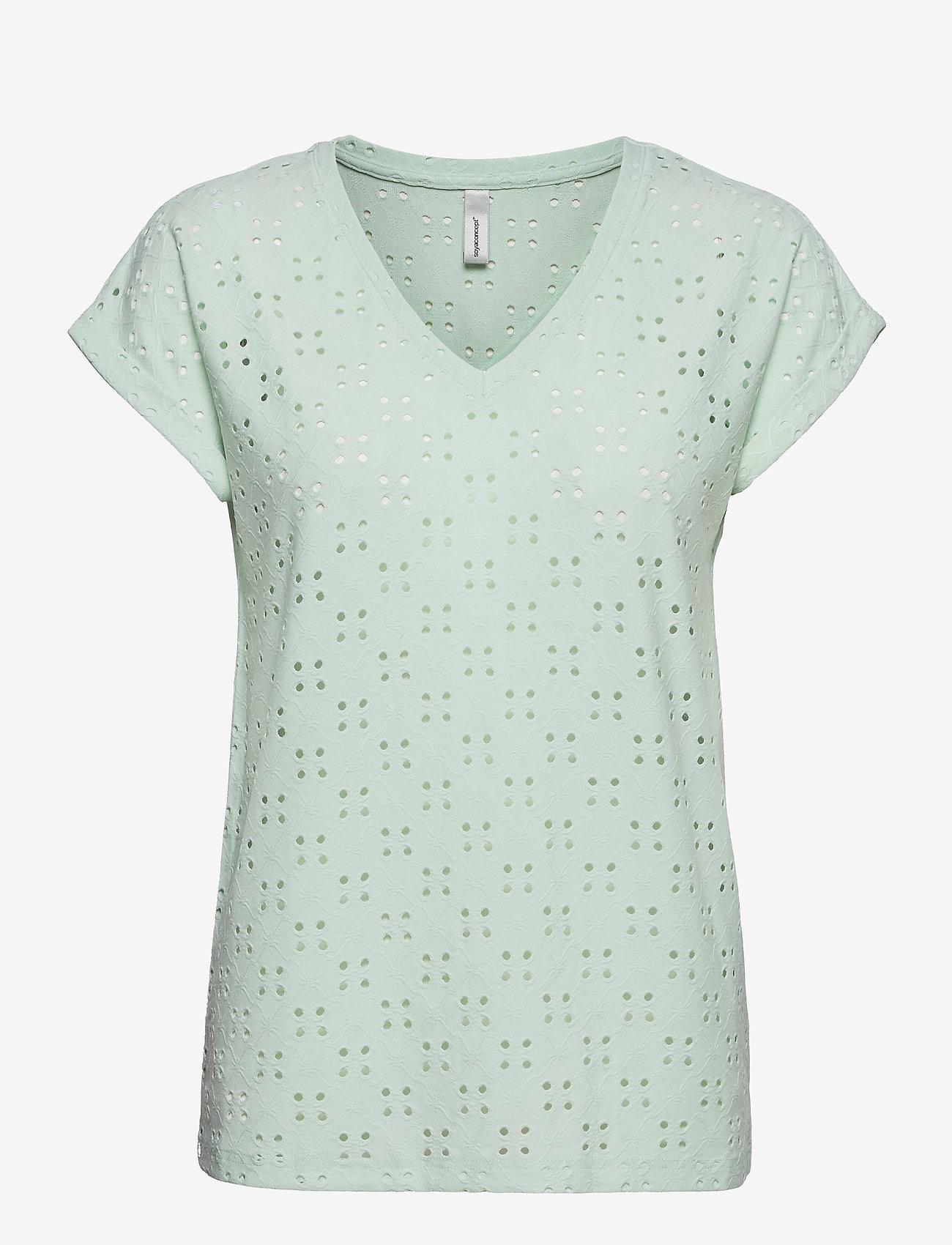 Soyaconcept - SC-INGELA - t-shirts - aqua - 0
