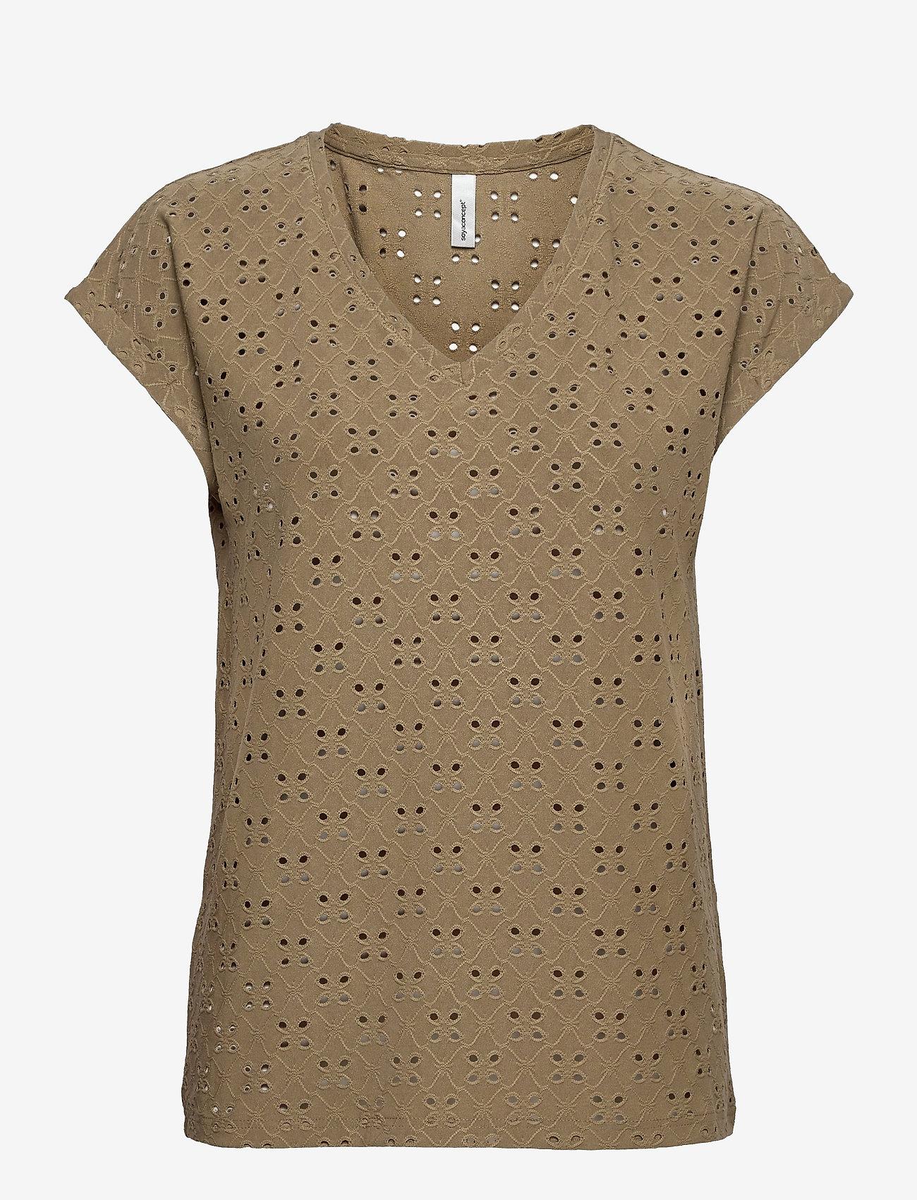 Soyaconcept - SC-INGELA - t-shirts - army - 0