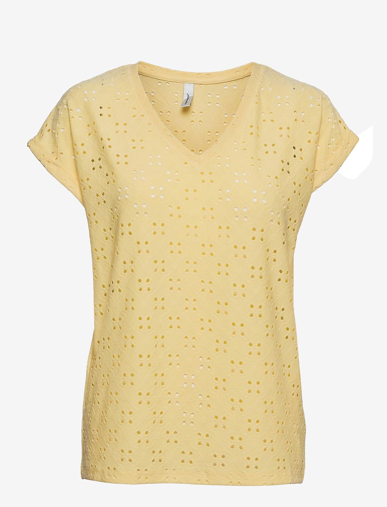 Soyaconcept - SC-INGELA - t-shirts - lemon - 0