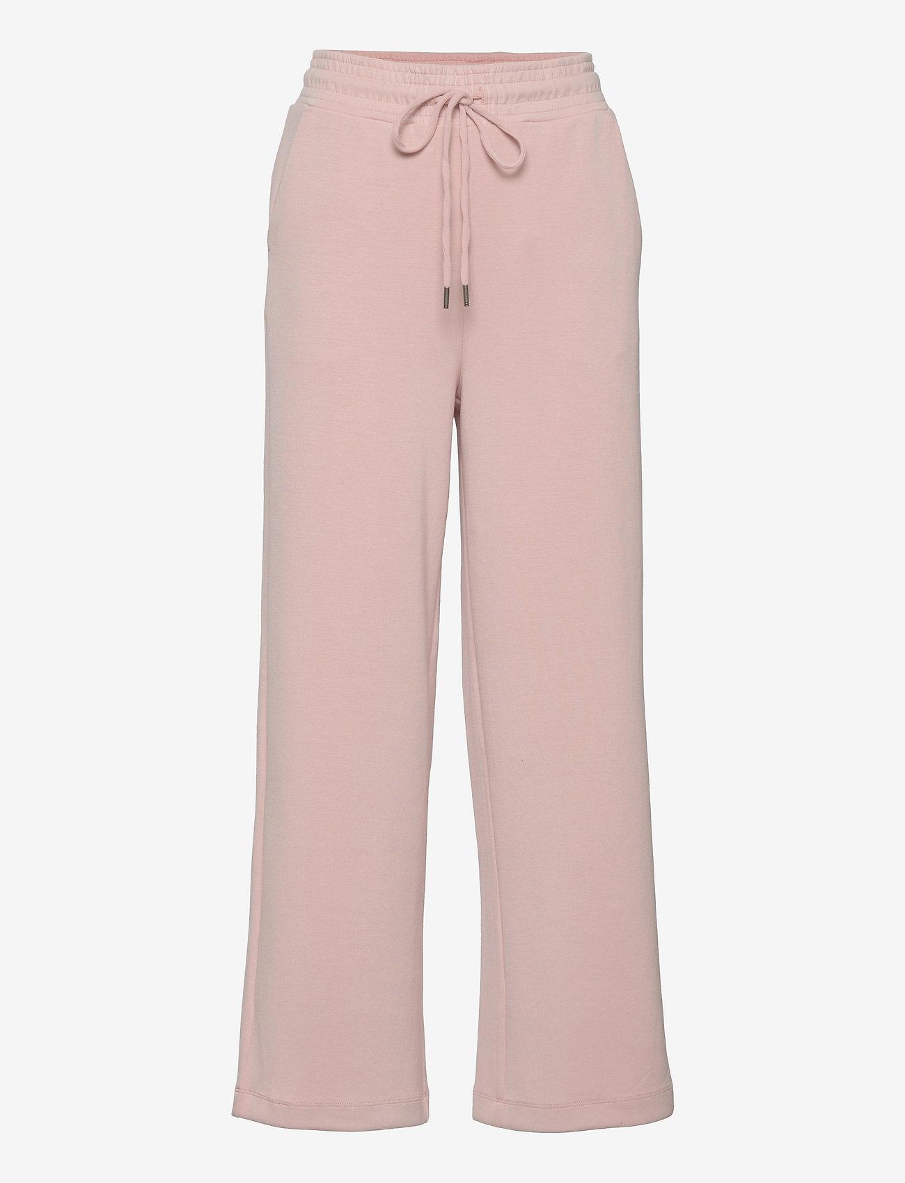 Soyaconcept - SC-BANU - bukser med brede ben - rose - 0