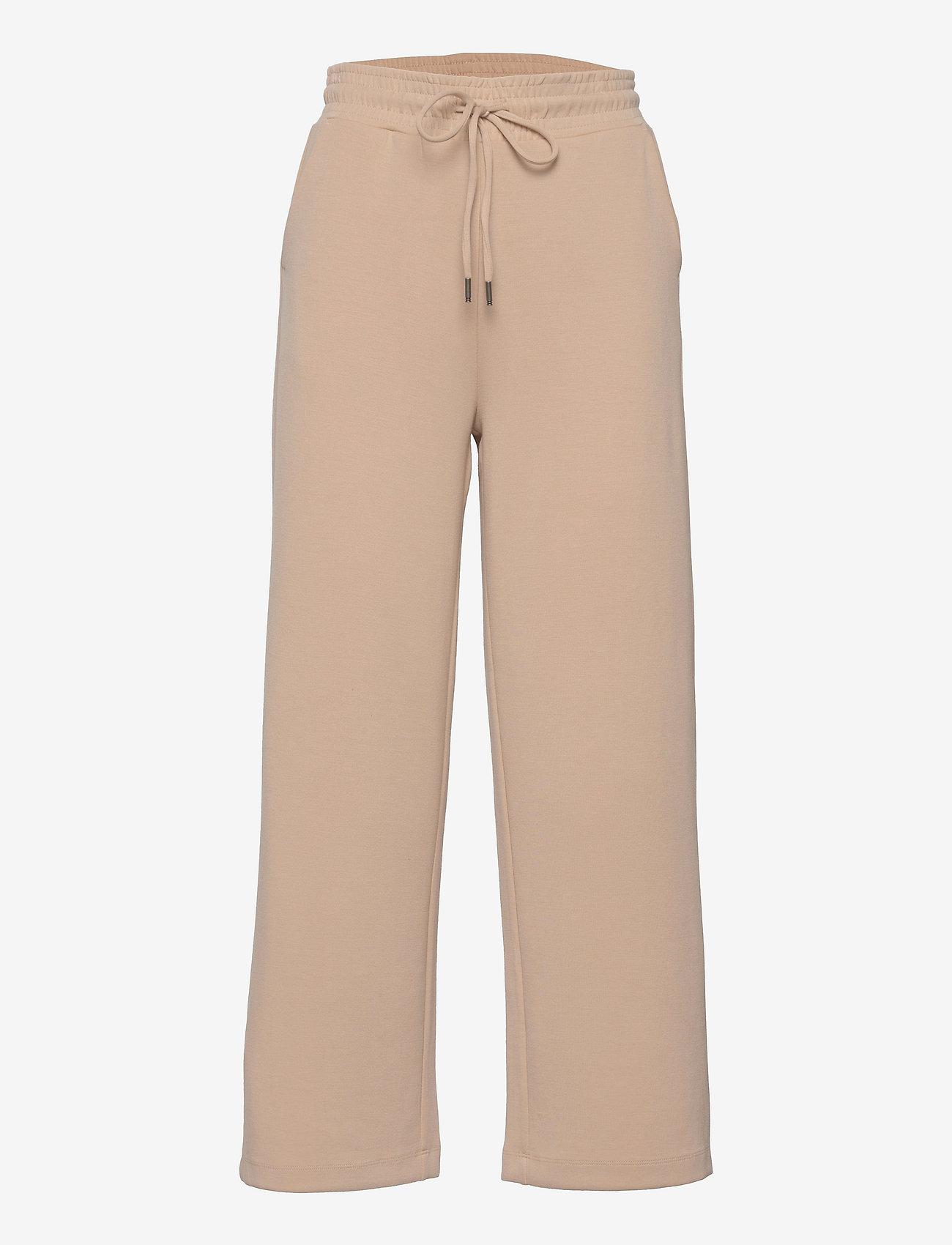 Soyaconcept - SC-BANU - bukser med brede ben - sand - 0