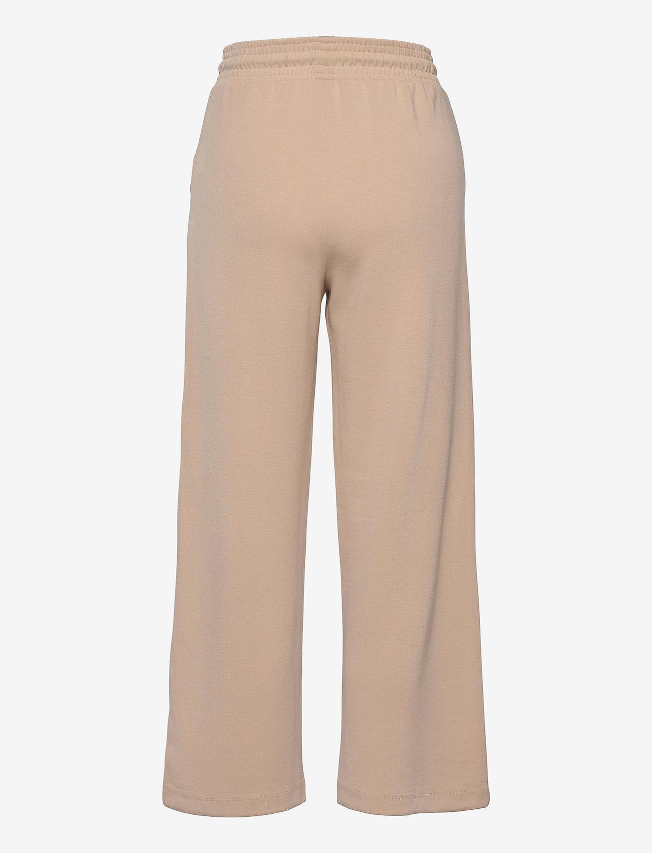Soyaconcept - SC-BANU - bukser med brede ben - sand - 1