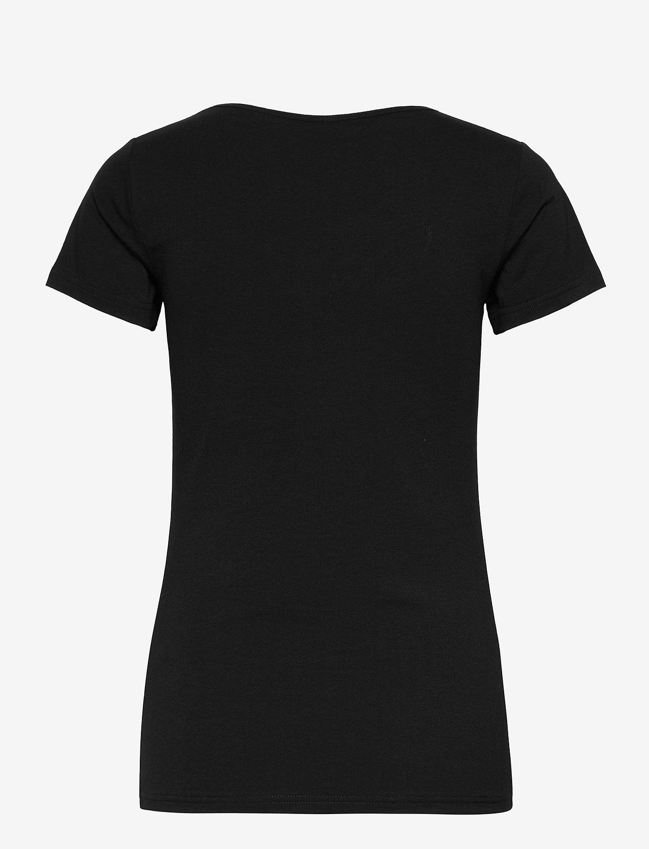 Soyaconcept - SC-PYLLE - t-shirt & tops - black - 1