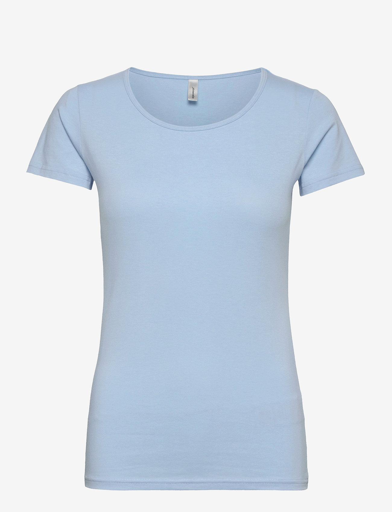 Soyaconcept - SC-PYLLE - t-shirt & tops - powder blue - 0