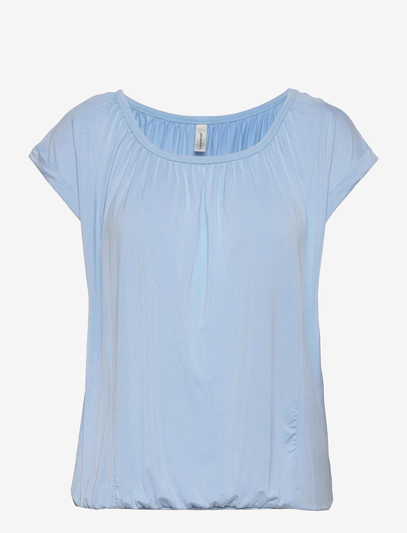 Soyaconcept - SC-MARICA - t-shirts - powder blue - 0