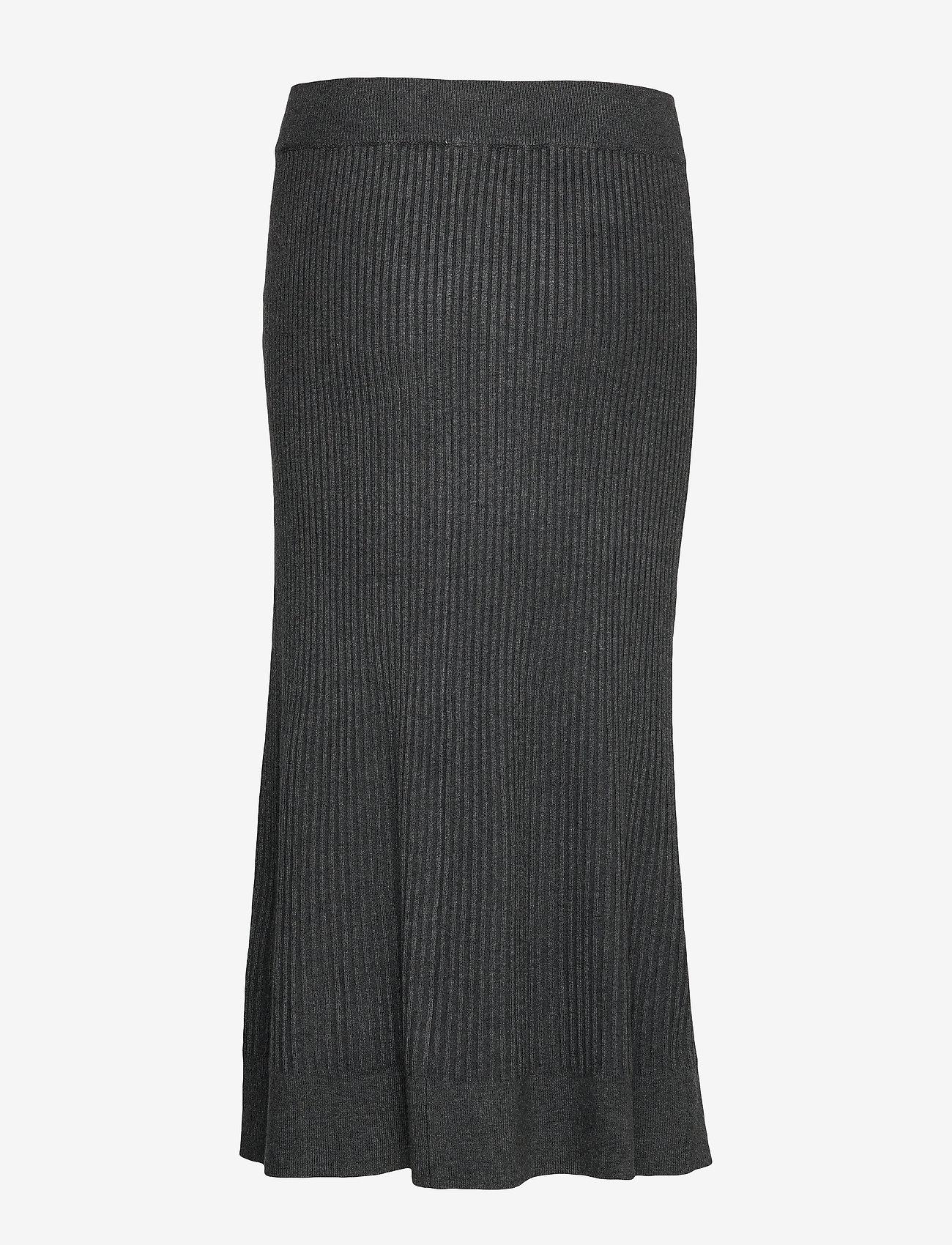 Soyaconcept - SC-DOLLIE - jupes longues - dk grey melange