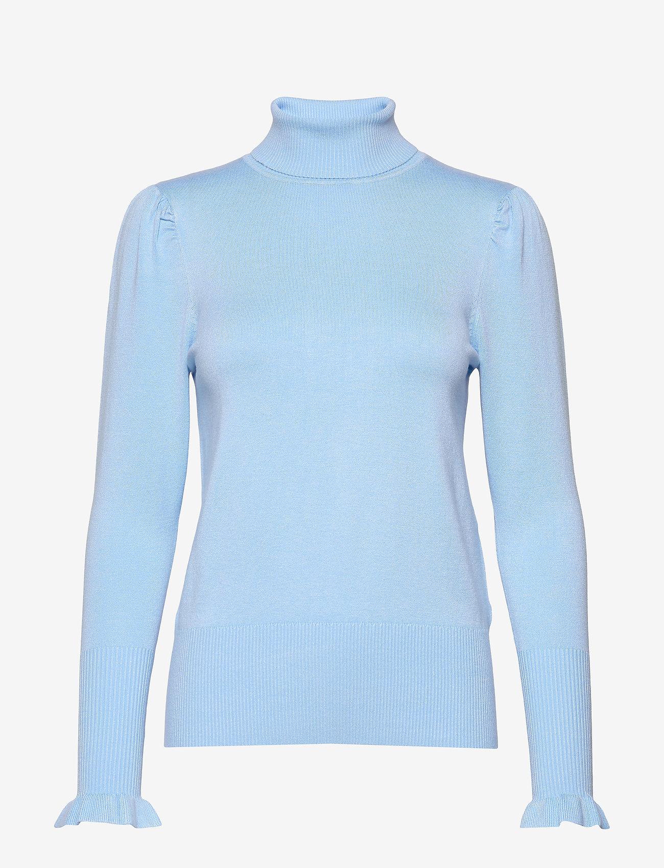 Soyaconcept - SC-DOLLIE - turtlenecks - cristal blue - 0