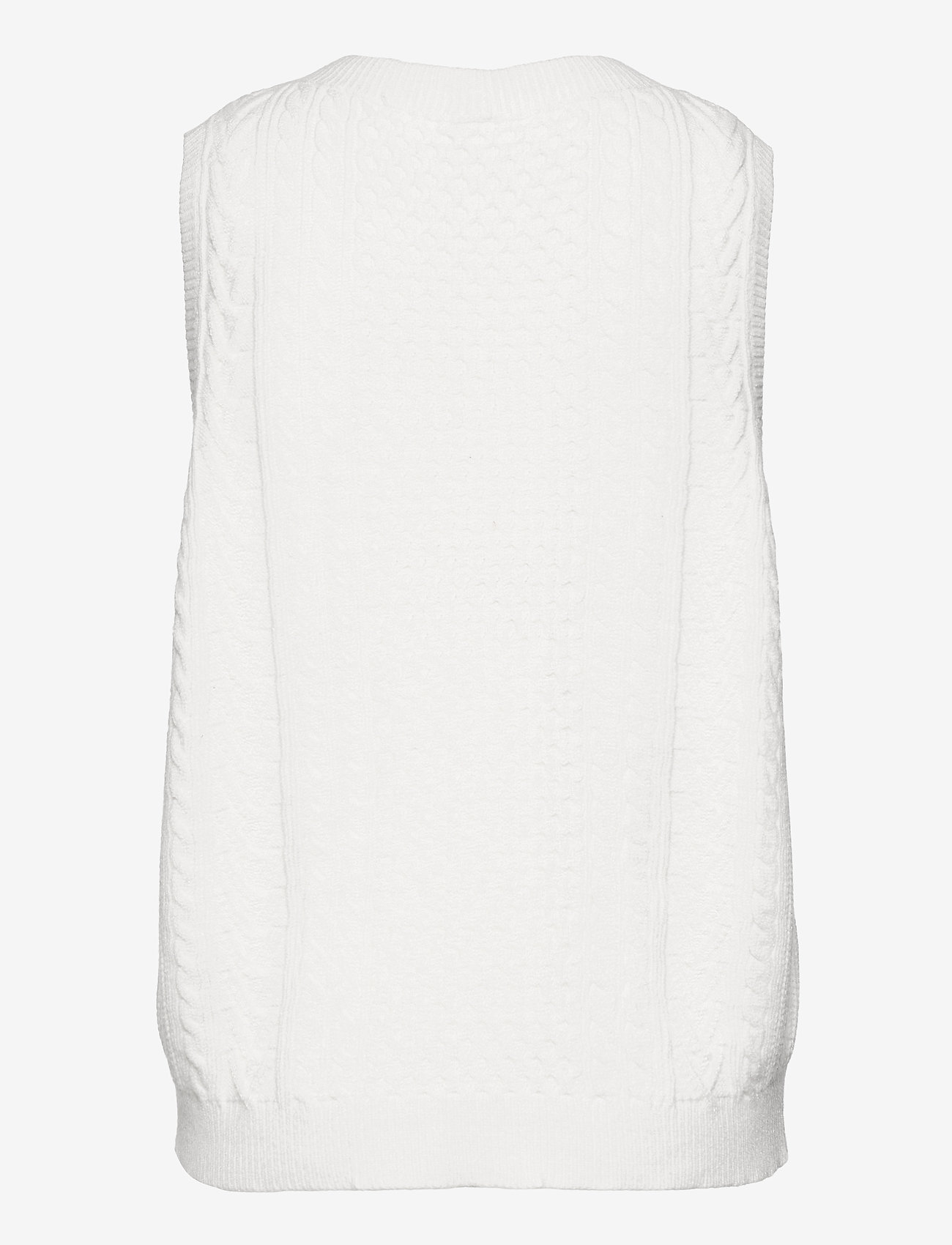 Soyaconcept - SC-BLISSA - knitted vests - offwhite - 1