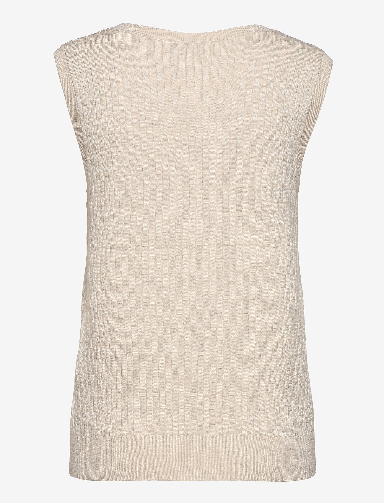 Soyaconcept - SC-DOLLIE - knitted vests - cream melange - 1