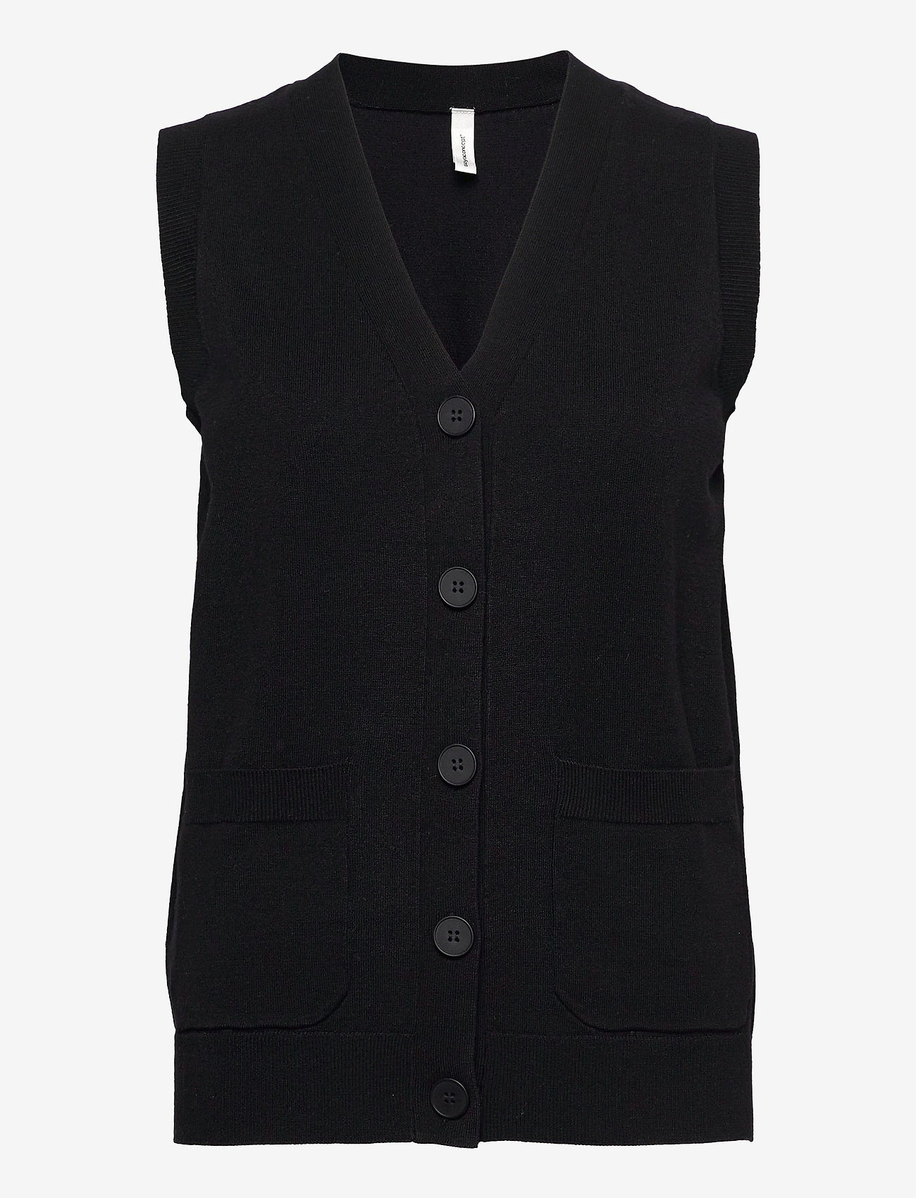 Soyaconcept - SC-DOLLIE - knitted vests - black - 0