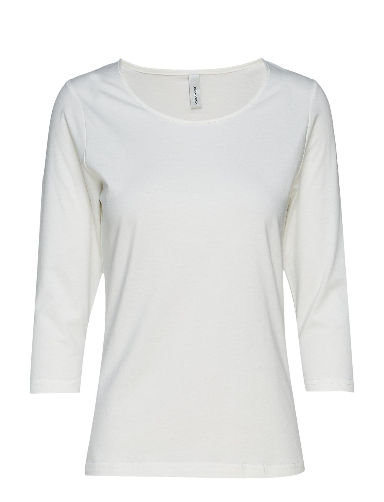 e7e7ac1ddcdf Sc-Pylle langærmede t-shirts   toppe fra Soyaconcept til dame i Sort ...
