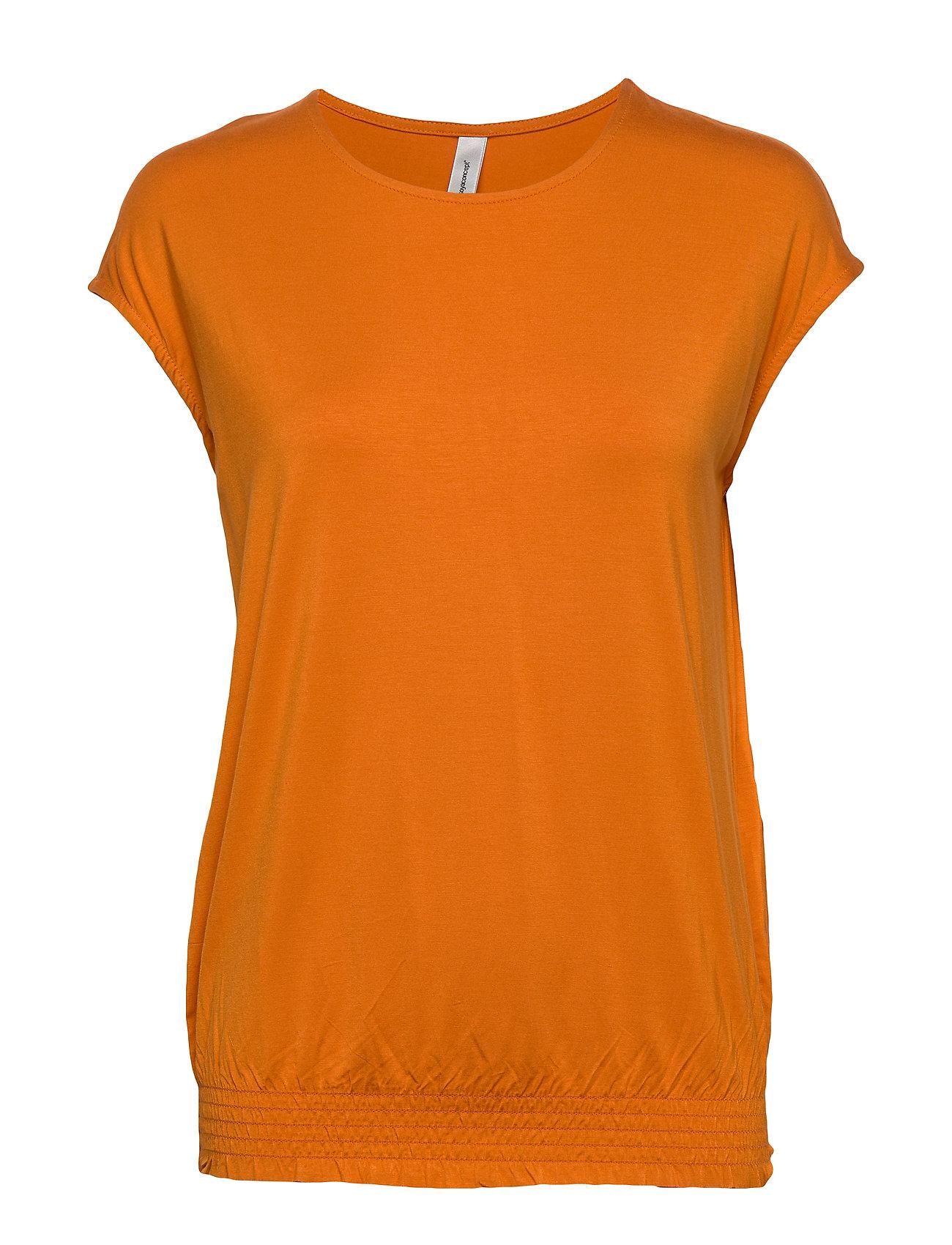 Image of Sc-Marica T-shirt Top Orange Soyaconcept (3363495159)