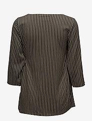 Soyaconcept - SC-MALICA - striped t-shirts - grape leaf combi - 1