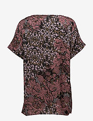 Soyaconcept - SC-MAILEA - blouses à manches courtes - ruby combi - 1