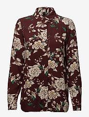 Soyaconcept - SC-MAGENTA - blouses à manches longues - ruby combi - 0