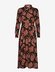 Soyaconcept - SC-BLANCA - shirt dresses - cabernet combi - 0
